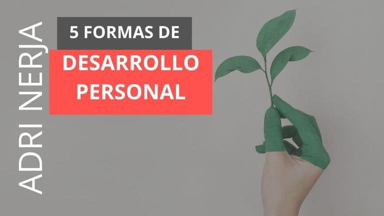 actividades para el desarrollo personal